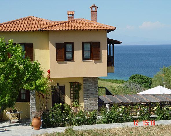 Вилла у моря греция